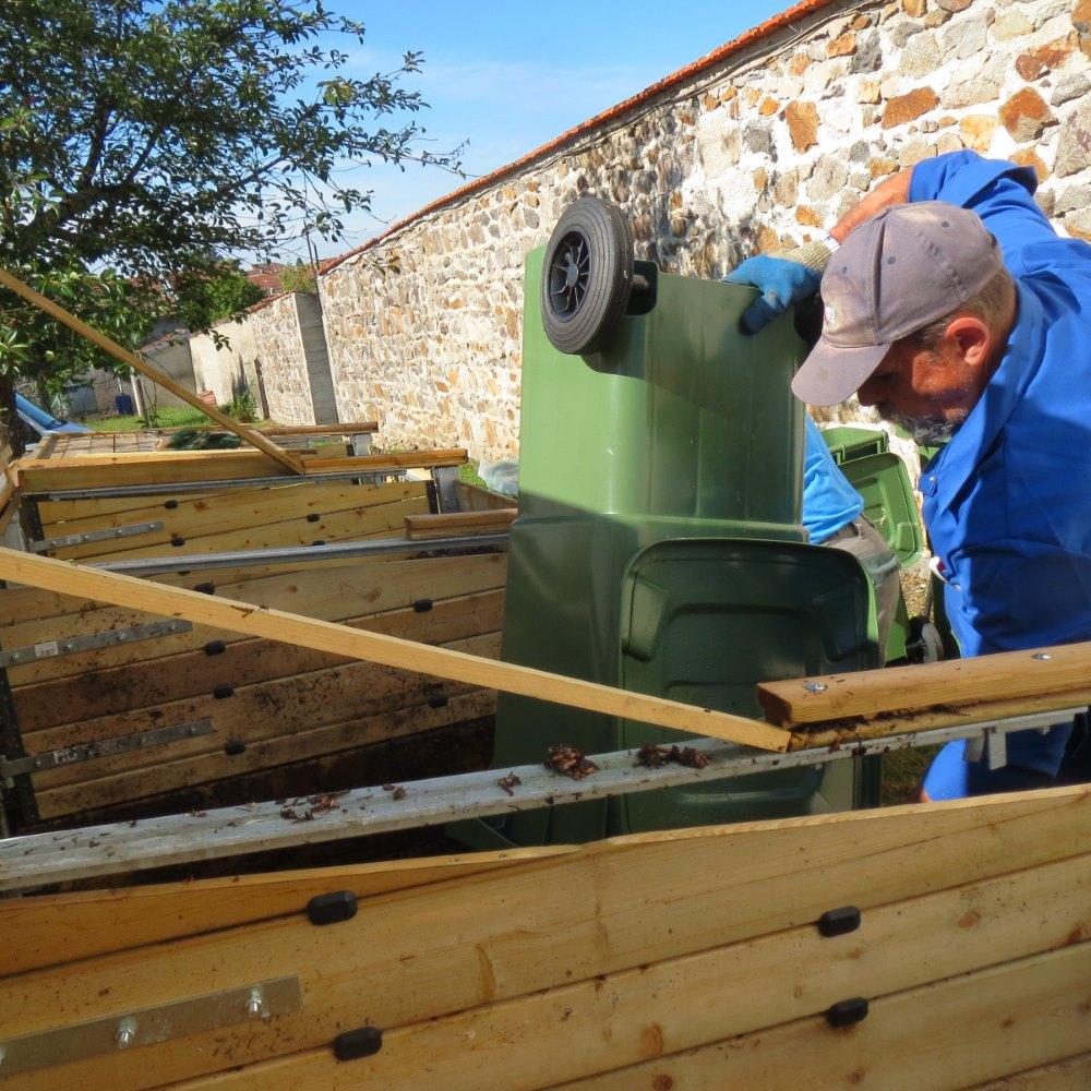 Réussir le compostage nécessite un travail quotidien