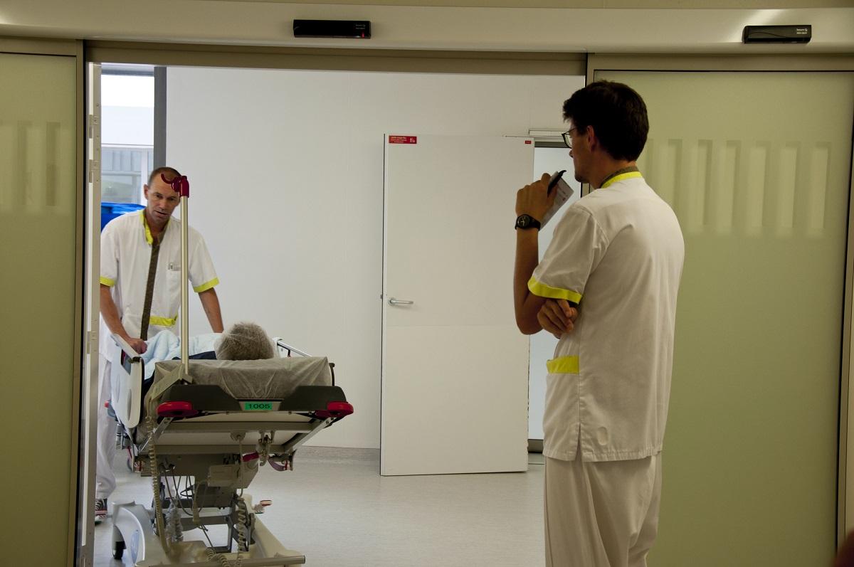 Sortie du bloc opératoire
