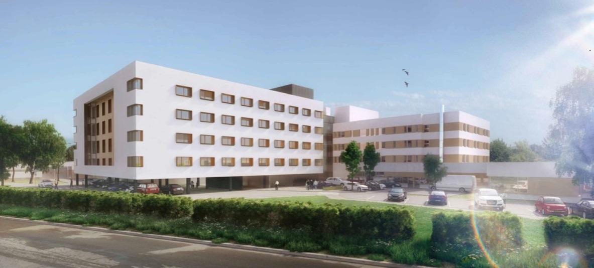 Nouveau bâtiment de médecine de Coulommiers