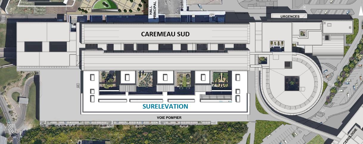 Surélévation Carémeau Sud