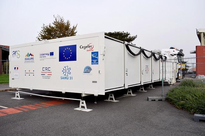 Hôpital mobile CHU de Toulouse