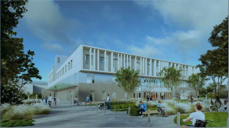 Bâtiment MPR, CHU de Nantes
