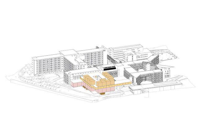 Le projet Bauréals (hôpital Lyon Sud, HCL), Atlier Michel Rémon & Associés et VK Studio Architectes