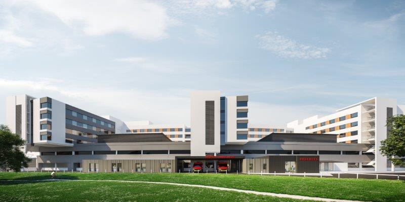 Maquette urgences Hôpital privé du Confluent